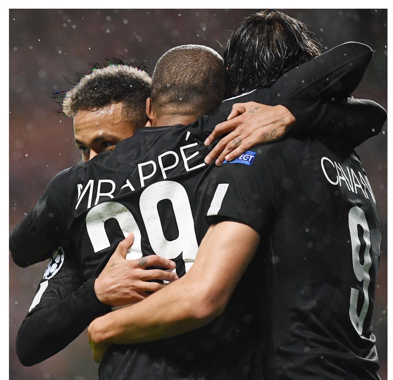 Neymar, Kylian Mbappé, & Edinson Cavanirender