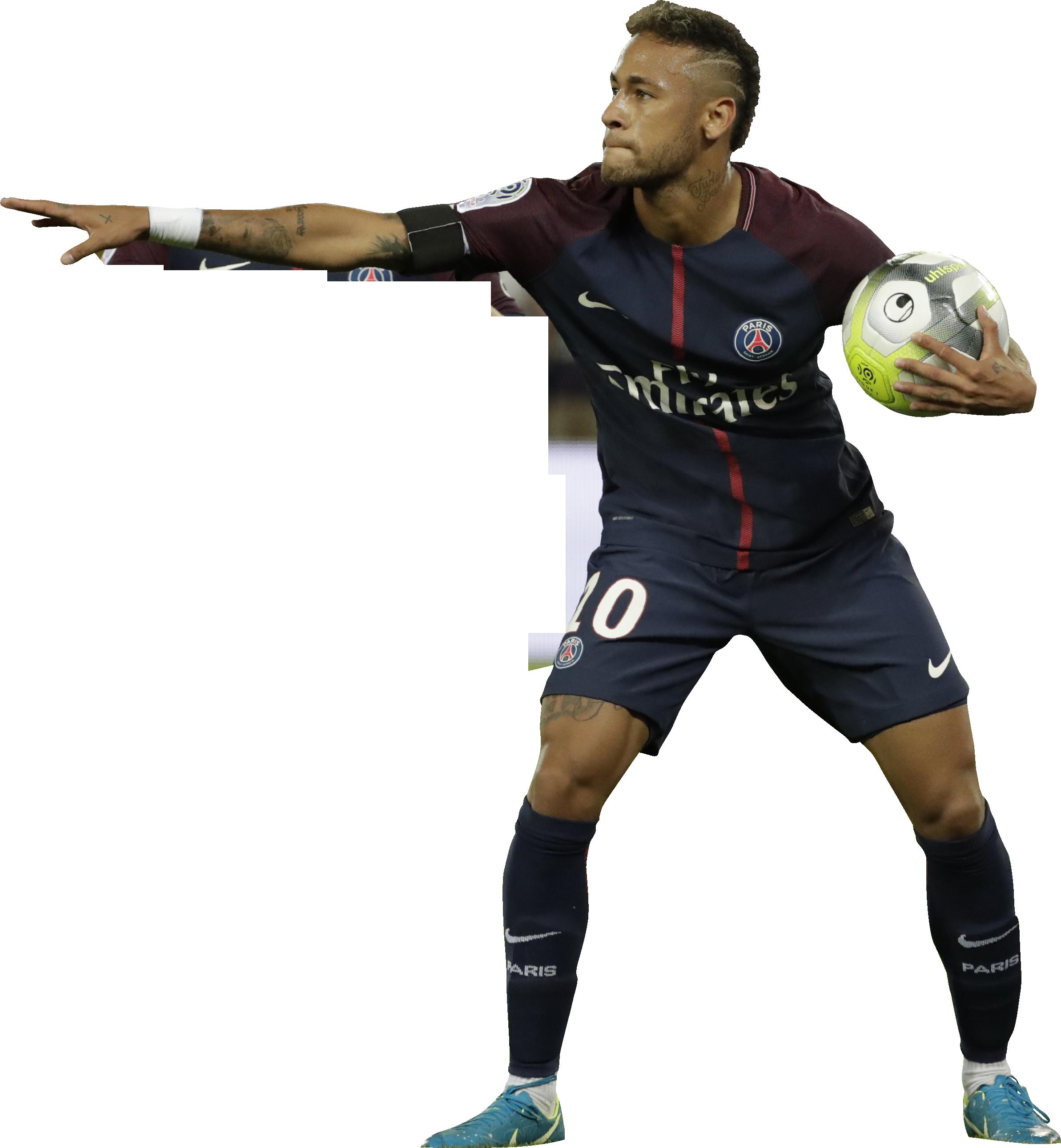 Neymar football render - 40408 - FootyRenders