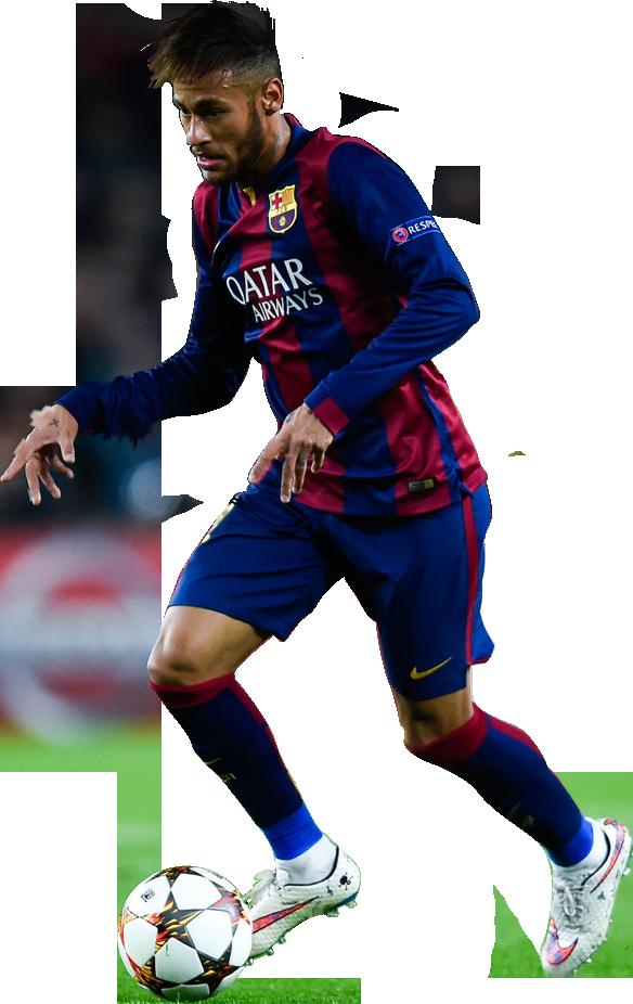 Neymar football render 9887 footyrenders - Render barcelona ...