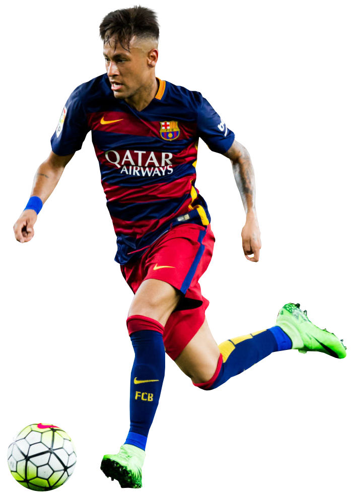 Neymar football render 16084 footyrenders - Render barcelona ...