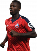 Nicolas Pépé football render
