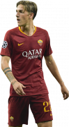 Nicolo Zaniolo football render
