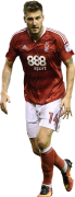 Nicklas Bendtner football render
