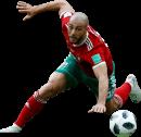 Nordin Amrabat football render