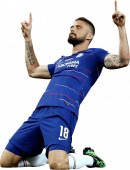 Olivier Giroud football render