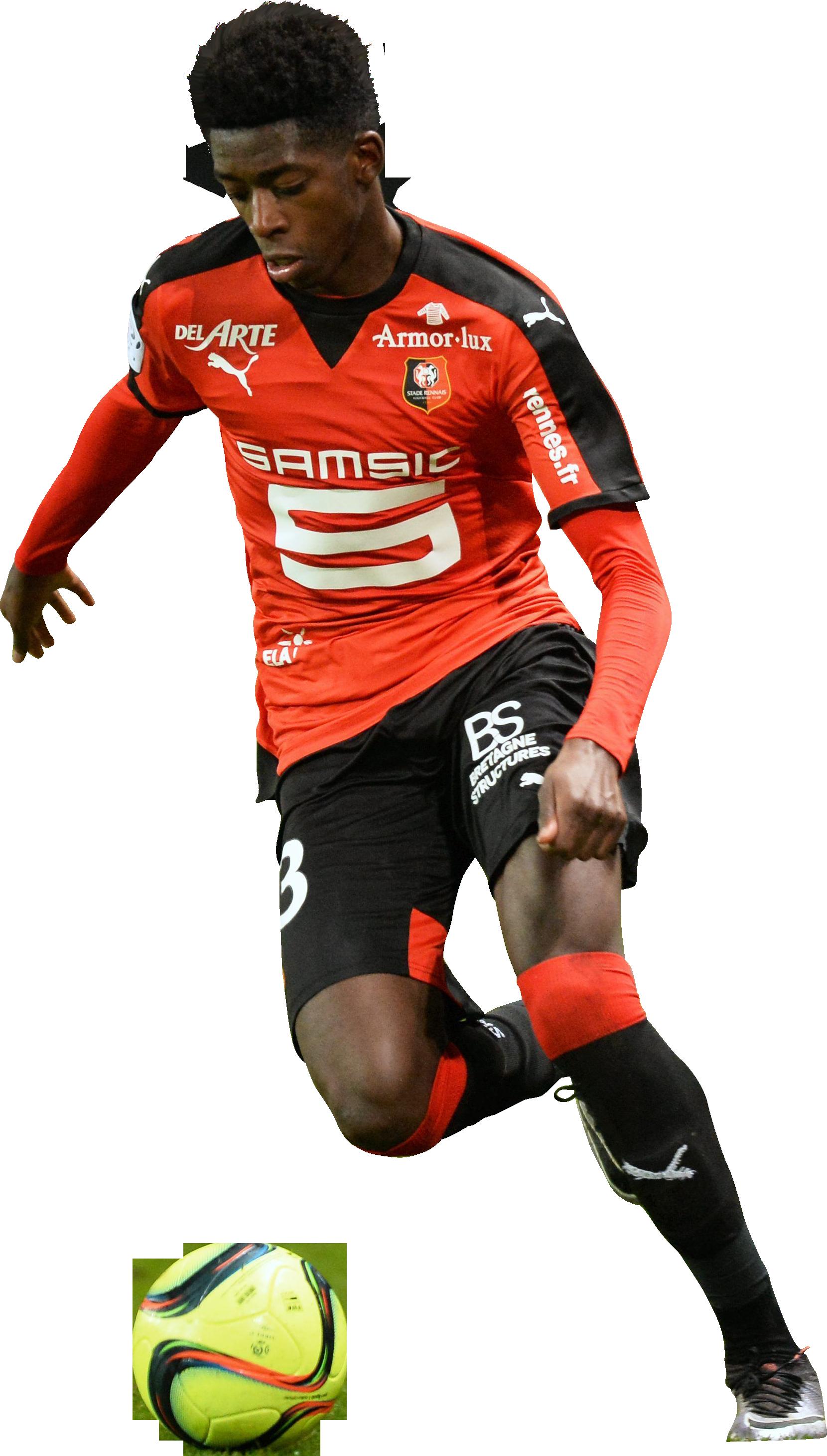 Ousmane Dembélé football render FootyRenders