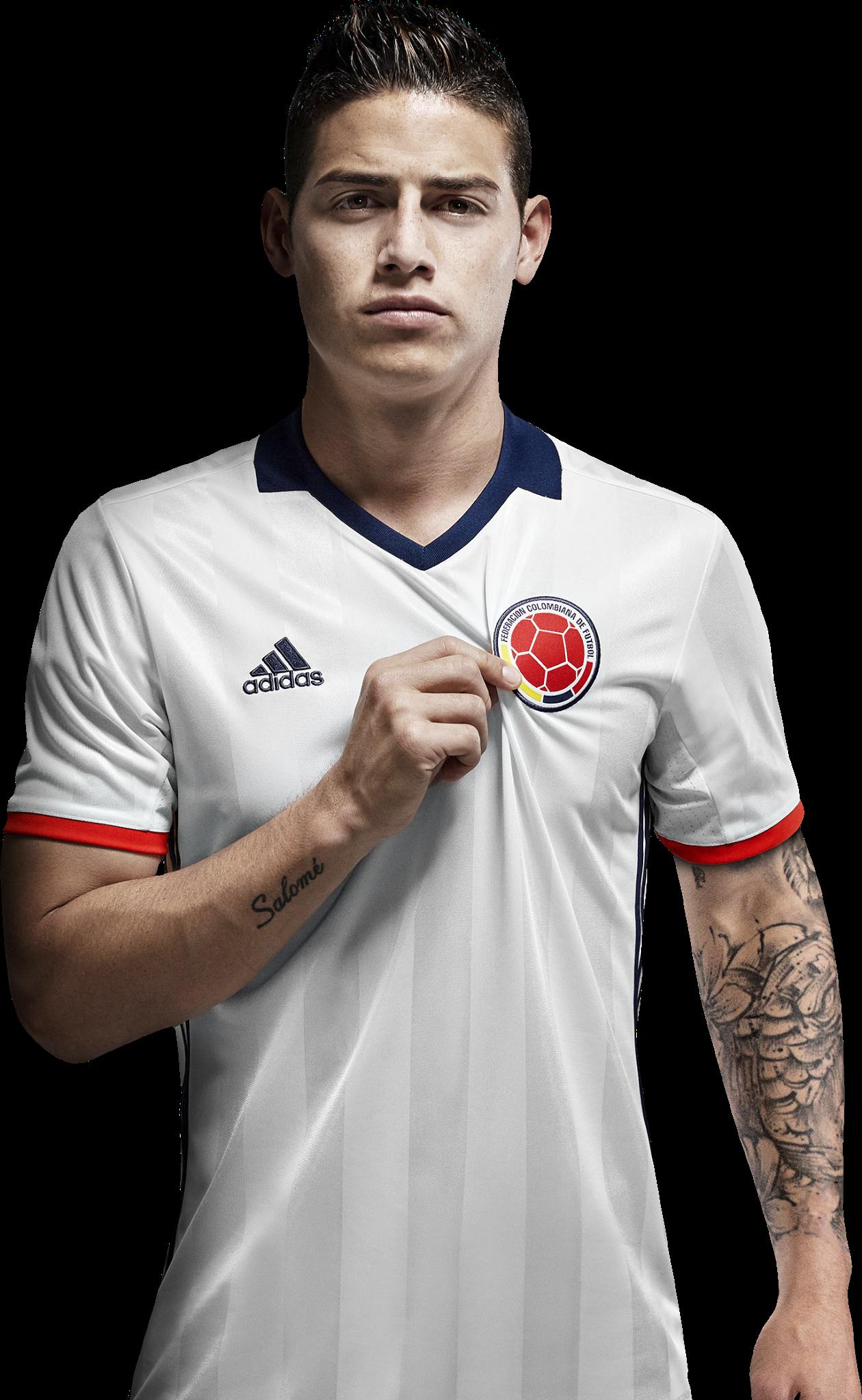 James Rodriguez Football Render 24939 Footyrenders