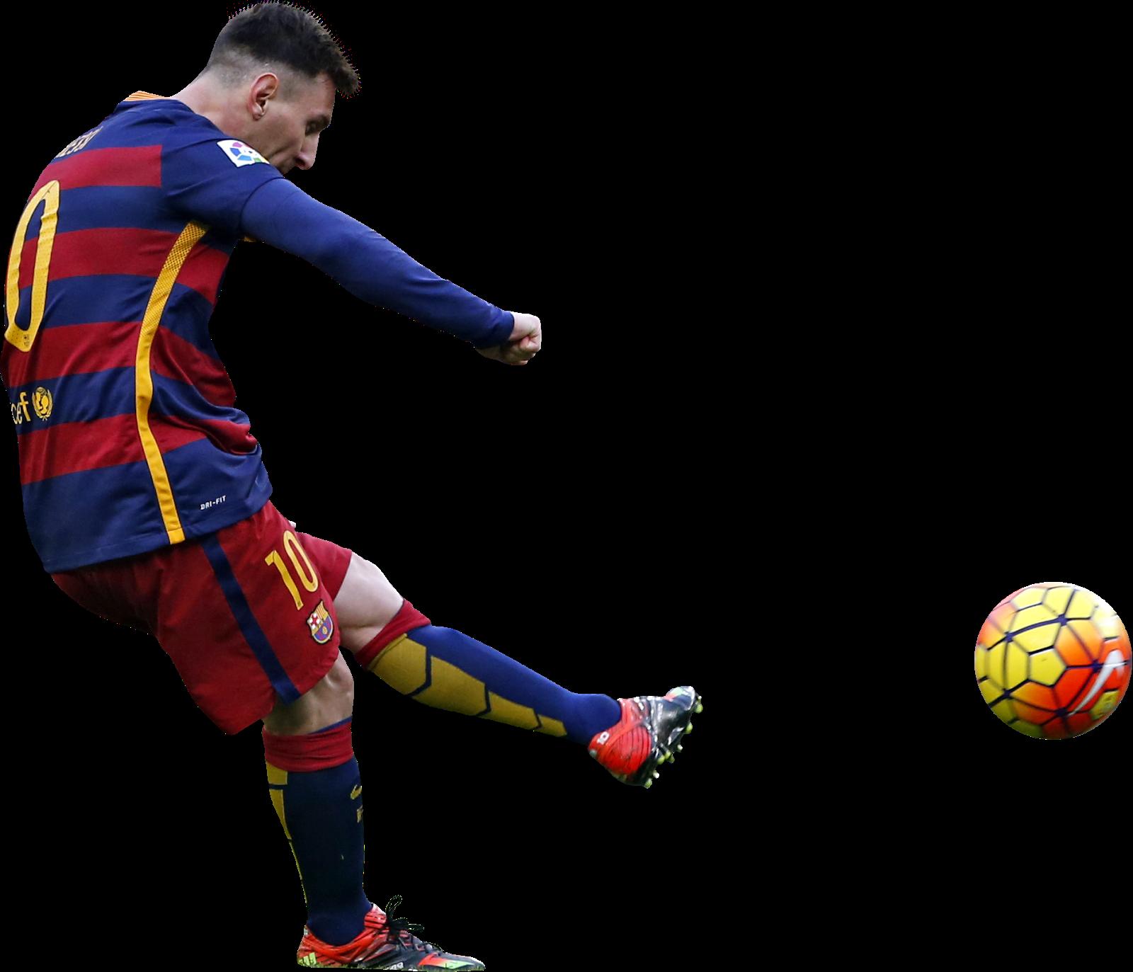 Lionel Messi football render - 19691 - FootyRenders