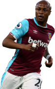Andre Ayew football render