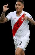 Paolo Guerrero football render