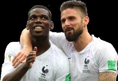 Paul Pogba & Olivier Giroud