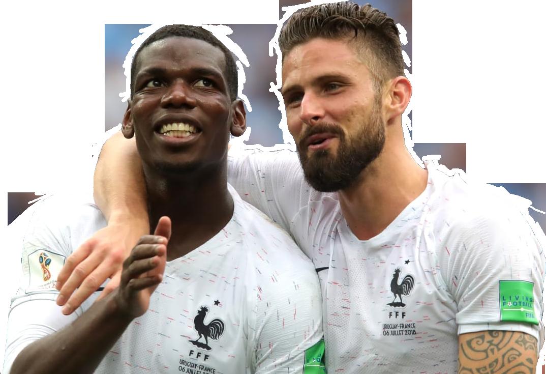 Paul Pogba & Olivier Giroudrender