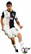 Paulo Dybala football render