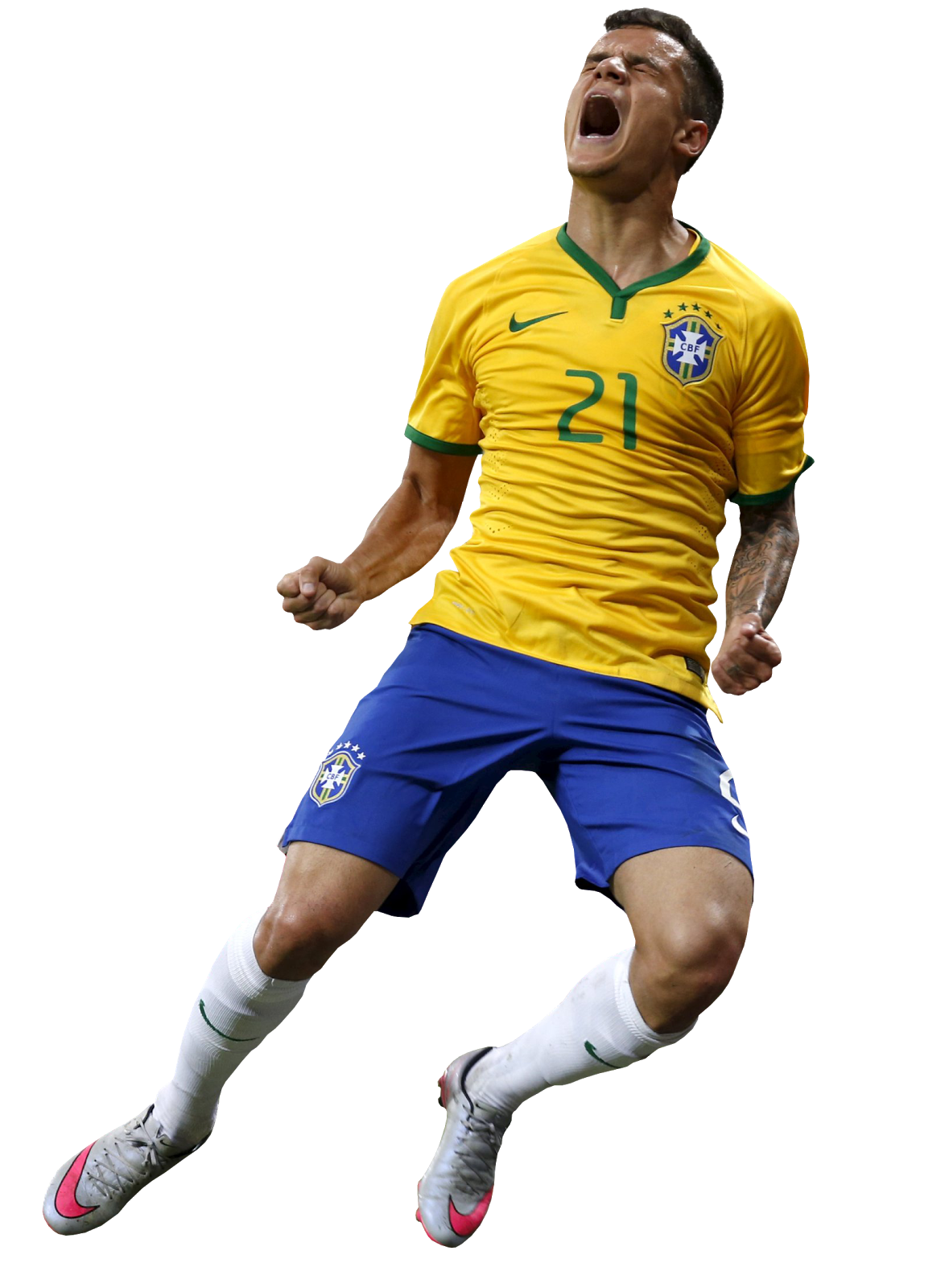 philippe coutinho football render - 13940