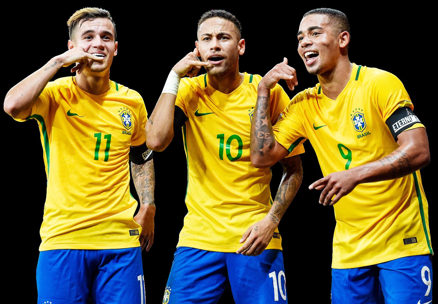 neymar coutinho gabriel jesus