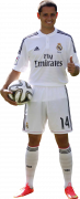 "Javier ""Chicharito"" Hernandez football render"