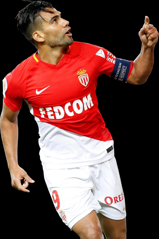 Radamel Falcao football render FootyRenders