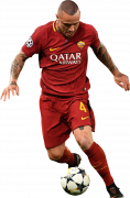 Radja Nainggolan football render