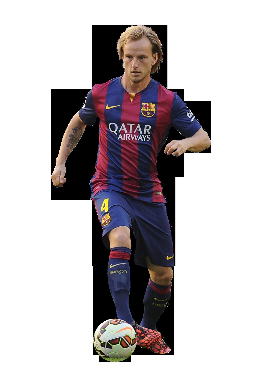 Ivan rakitic football render 8432 footyrenders - Render barcelona ...