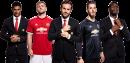 Marcus Rashford, Luke Shaw, Juan Mata, David De Gea & Paul Pogba