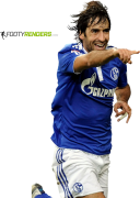 Raul Gonzalez football render