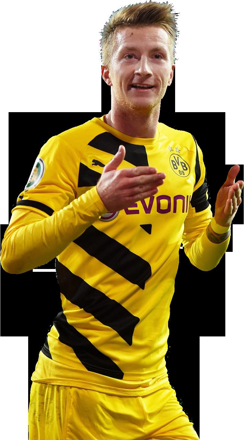 Marco Reus football render - 8693 - FootyRenders