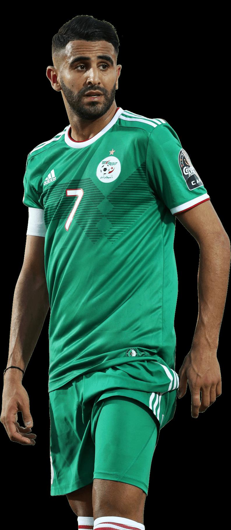 Riyad Mahrez football render - 55778 - FootyRenders