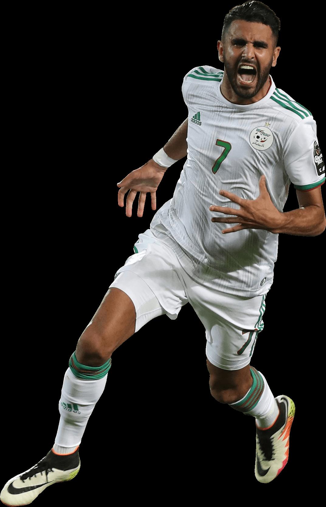 Riyad Mahrez football render - 55948 - FootyRenders