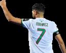 Riyad Mahrez football render