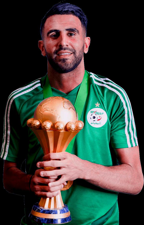 Riyad Mahrez football render - 56383 - FootyRenders