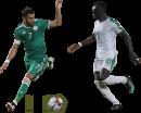 Riyad Mahrez & Sadio Mané football render
