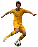 Robbie Kruse football render