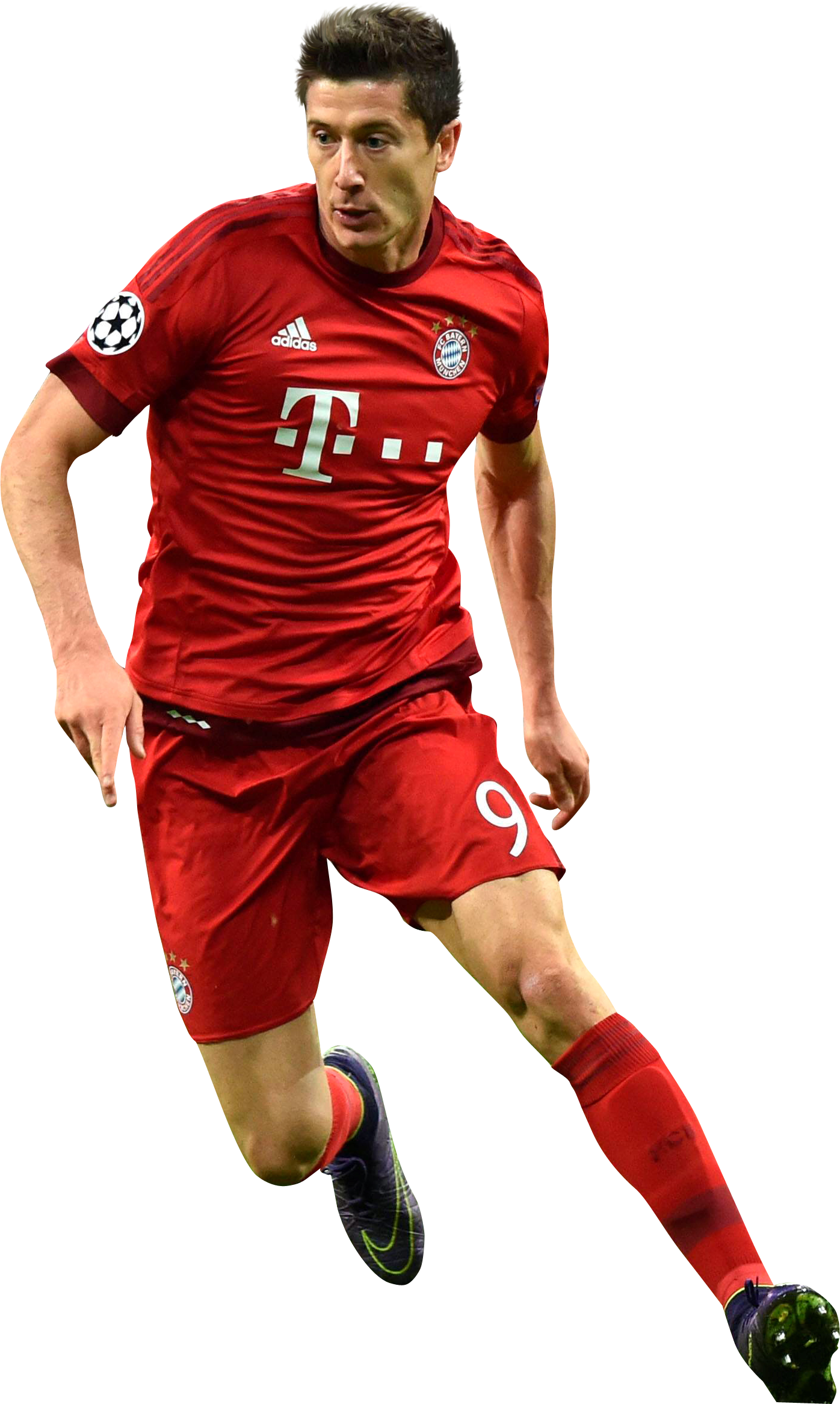 Robert Lewandowski football render - 20728 - FootyRenders