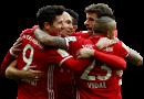 Robert Lewandowski, Thomas Müller, Arturo Vidal, Arjen Robben & Thiago Alcántara