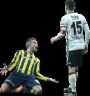 Robin van Persie & Oguzhan Özyakup football render