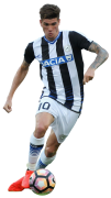 Rodrigo de Paul football render