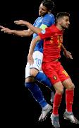 Rolando Mandragora & Siebe Schrijvers football render