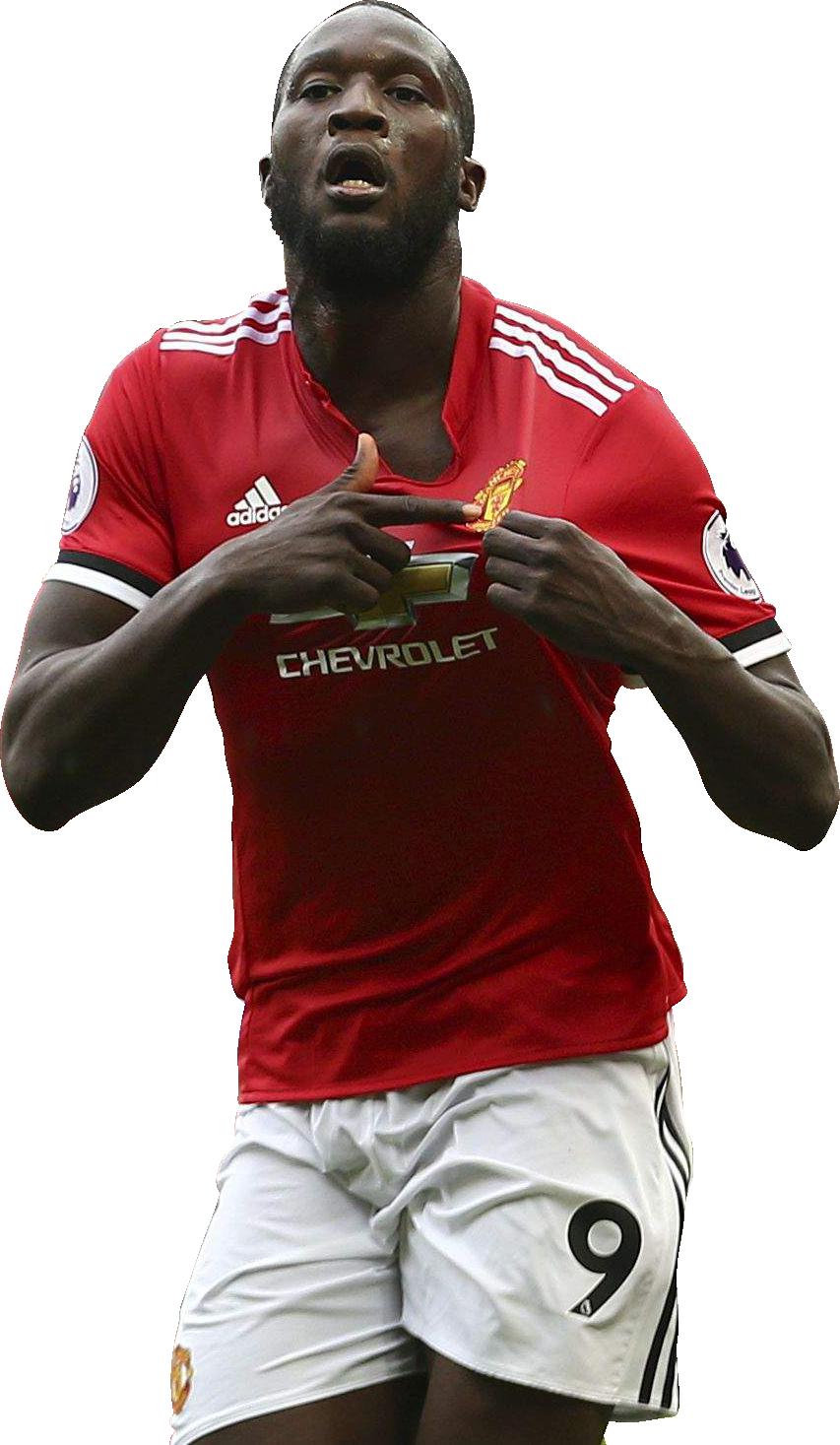 Romelu Lukaku football render FootyRenders