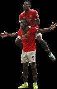 Romelu Lukaku & Paul Pogba