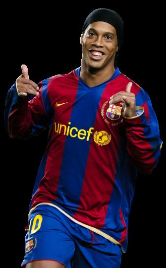 Ronaldinho football render 37548 footyrenders - Render barcelona ...