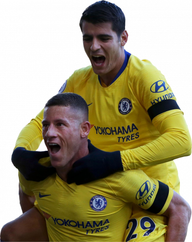 Ross Barkley & Alvaro Morata