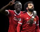 Sadio Mané & Mohamed Salah