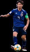 Saki Kumagai football render