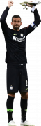 Samir Handanovic football render