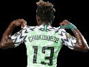 Samuel Chukwueze football render