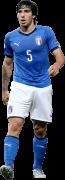 Sandro Tonali football render