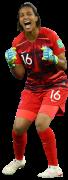Sarah Bouhaddi football render