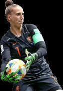 Sari van Veenendaal football render