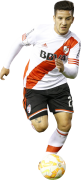 Sebastian Driussi football render