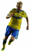 Sebastian Larsson football render